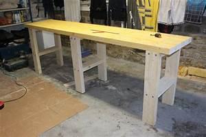 Plan Atelier Bricolage : brico fabriquer son tabli tape 2 le plan de travail ~ Premium-room.com Idées de Décoration
