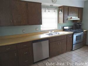 Cute Junk 39 Ve Paint Laminate Cabinet Part Prep How To Painting Laminate Kitchen Cabinets
