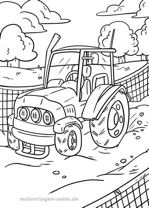 Afbeelding Tractor Kleurplaat by Kleurplaat Trekker