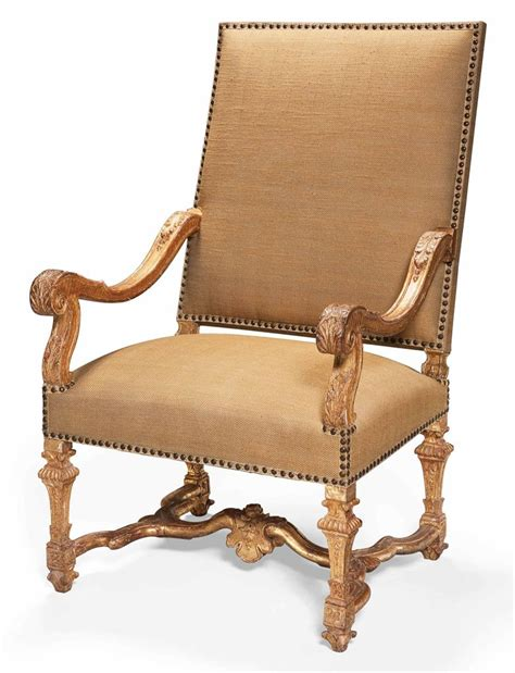 chaise louis xiv fauteuil d 39 epoque louis xiv debut du xviiieme siecle