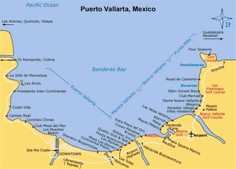 vallarta puerto hotels map mexico resorts area hotel maps nayarit riviera yahoo google pv north inclusive results discover
