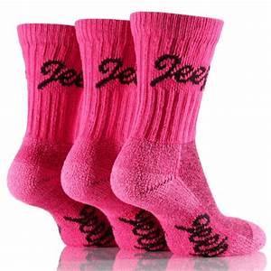Jeep Luxury Terrain Boot Socks - Pack 3
