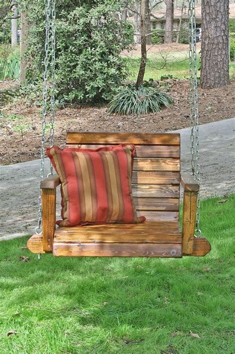 christophers single seat garden  porch swing