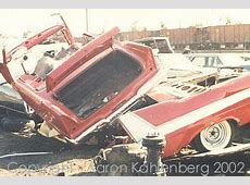 The Christine Story YES THEY CRUSHED MANY OF THE CARS THAT WERE WRECKED AFTER THE MOVIE WAS