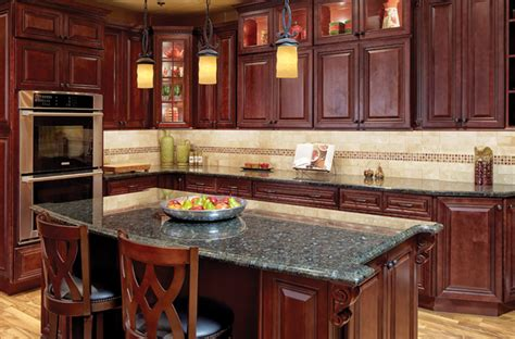 cherry hill raised panel kitchen cabinets solid wood