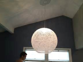 diy string globe chandelier tutorial keeps on ringing