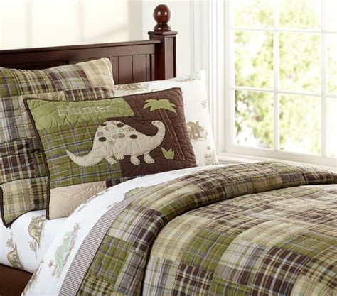 s room with pottery barn kids madras quilt