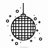 Disco Ball Coloring Party Icon Prty Decoration Christmas Pages 2021 Ultra Ultracoloringpages sketch template