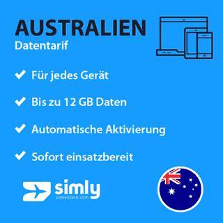 australien prepaid daten sim karte simlystorecom