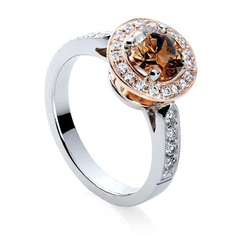 Rose Gold Cognac Diamond Ring  Jm Edwards Jewelry. Celtic Rings. Pittsburgh Penguin Rings. Trendy Engagement Rings. World Warcraft Wedding Rings. Petite Micropavé Trio Diamond Wedding Rings. Custom Matching Wedding Rings. Birthstone Swarovski Rings. $20000 Engagement Rings
