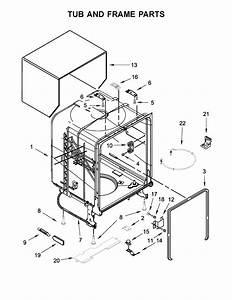 Whirlpool Wdf330pahw0 Dishwasher Parts