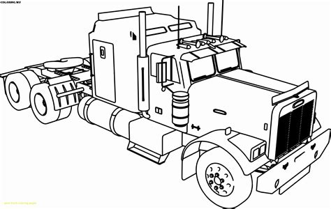 truck coloring pages  adults truck coloring