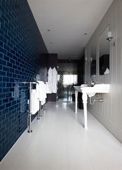 navy blue bathroom tiles ideas  pictures
