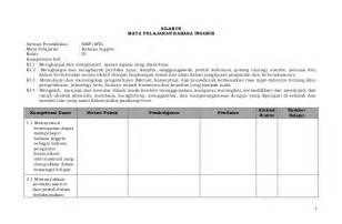 Berikut ini admin bagikan silabus dan rpp. Silabus smp IX Bahasa-inggris kurikulum 2013