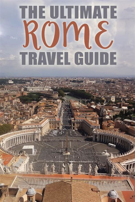 The Ultimate Rome Travel Guide • The Blonde Abroad