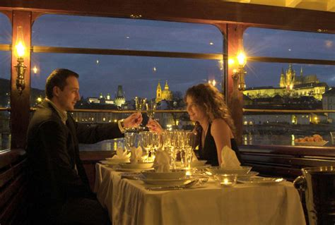 Dinner On A Boat Cruise by Dinner On The River Cruise Prague Boat Tours