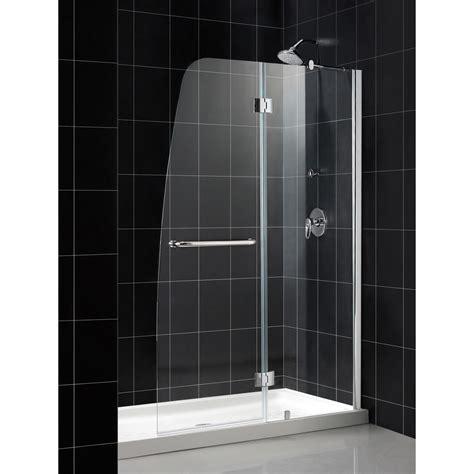 bath authority dreamline aqua frameless hinged shower door