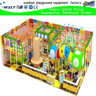 Cartoon Playground Indoor Amusement Castle Park H15