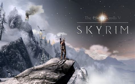 The Elder Scrolls V Skyrim Wallpapers Wallpaper Cave