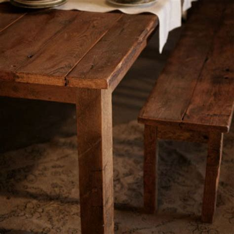 Reclaimed Wood Antique Pine Farmhouse Table Ships Free