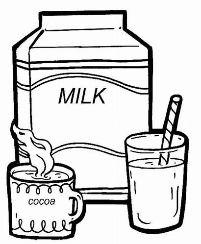 Coloring Drinks Pages Printable
