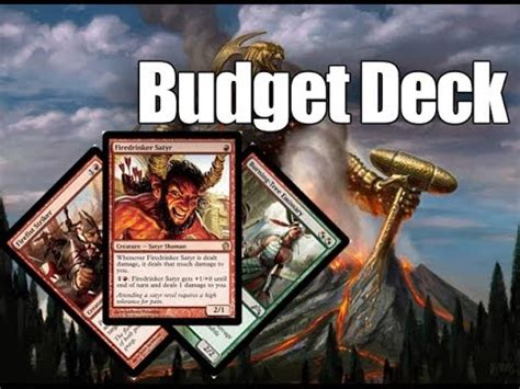 Budget Deck Mtg by Mtg Budget Deck Tech Rdw Theros Standard