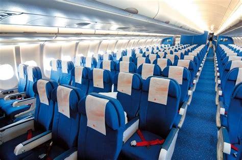 klm inside planes interiors