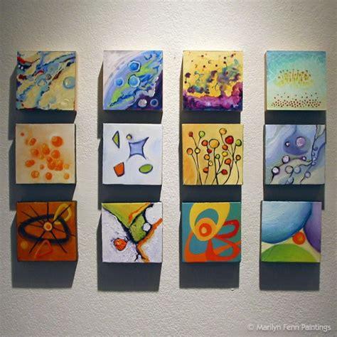 mini canvas display idea pinteres