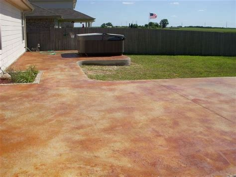 stained concrete patio 17 best images about stained concrete on