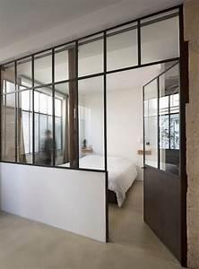 Raumteiler Wohnzimmer Schlafzimmer : architektur stylisches loft in alter werkstatt klonblog ~ Michelbontemps.com Haus und Dekorationen