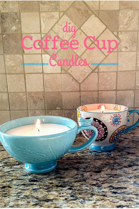 Diy Coffee Cup Candles T Ideas Diy Crafts To Sell