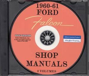 1960 Ford Falcon  U0026 Ranchero Repair Shop Manual Original