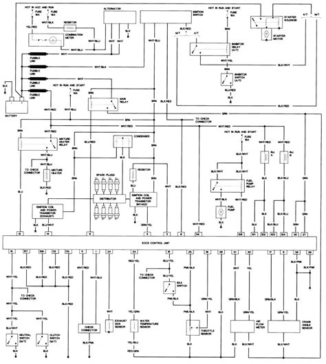 1994 Nissan Wiring Diagram by Nissan Terrano 2 Wiring Diagram Pdf Wiring Library