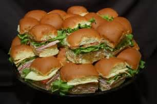 Walmart Party Deli Sandwich Platter