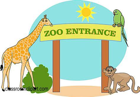 zoo entrance clipart