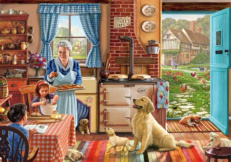 Grandma's Kitchen Wooden Jigsaw  100  150 Pieces. Raw Food Kitchen. Average Cost Of Redoing A Kitchen. Window Treatment For Kitchen Window Over Sink. Picture Of Kitchen Cabinets. Dark Blue Kitchen Cabinets. Condo Kitchen. Where To Buy Kitchen Knives. Small Kitchen Makeovers Before And After