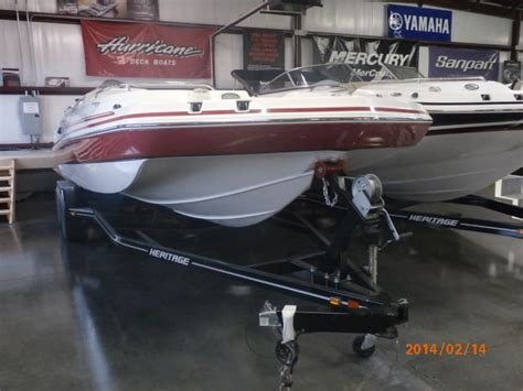 Custom Boat Covers St Charles Mo by 2014 Hurricane Sundeck Sport Ss 232 Ob For Sale St