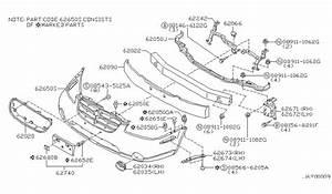 2002 Nissan Maxima Parts Diagram