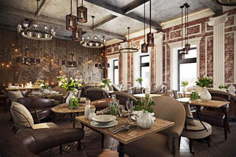view interior of homes stunning vray rendering for a restaurant design archicgi