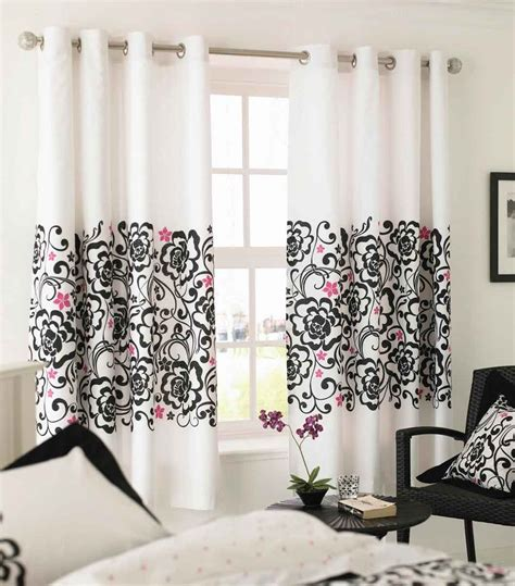 decorative curtains drapes white black and pink decor apartments i like