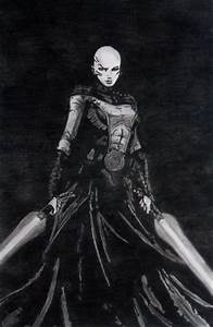 Asajj Ventress by instinct191 on DeviantArt
