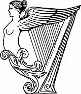 Harp Drawing Clipart Lyre Irish Coloring Pages Results Clipartmag Getdrawings sketch template