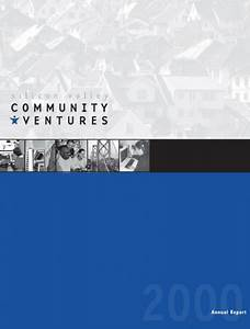 Silicon Valley Community Ventures Annual Report 2000 ...
