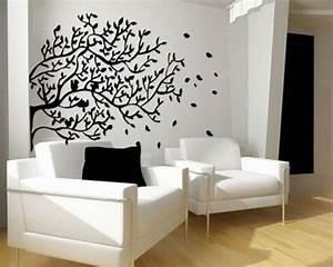 Wohnzimmer Streichen Muster : w nde streichen ideen f r das wohnzimmer wand farbe streichen idee wohnzimmer muster schwarz ~ Markanthonyermac.com Haus und Dekorationen