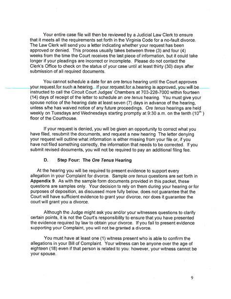 virginia separation agreement template virginia separation agreement template for free page 4 formtemplate