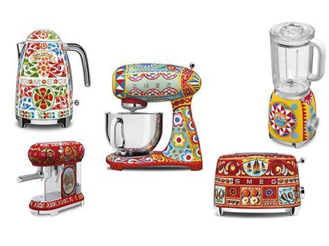 D&g Home Decor :  Smeg X Dolce & Gabbana Kitchen Appliances