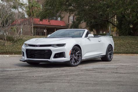2017 Chevrolet Camaro Zl1 Convertible Has A Whole Lot Of