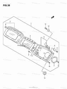 Suzuki Atv 2007 Oem Parts Diagram For Speedometer  Model