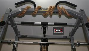 Power-Rack-Homemade-Pull-Up-Bar