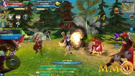 Best Free Anime Mmorpg And Mmo List 2018 Mobile Mmorpgs Mobile Mmos With Persistent Worlds